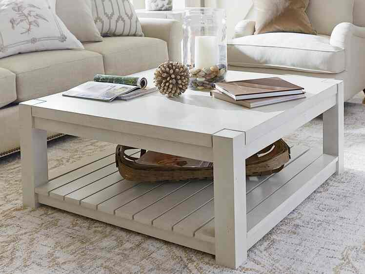 Maple Square Cocktail Table