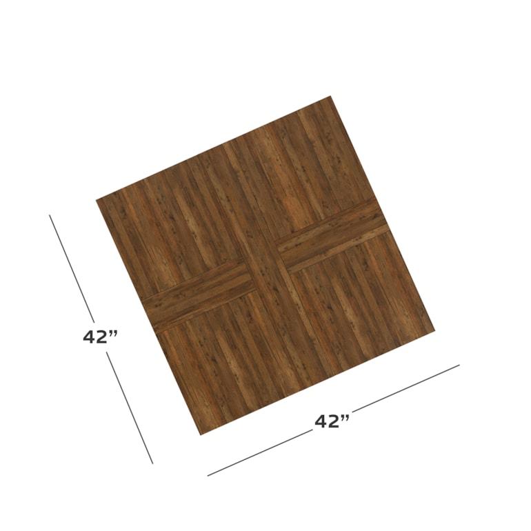 "Maple 42"" Square Cocktail"