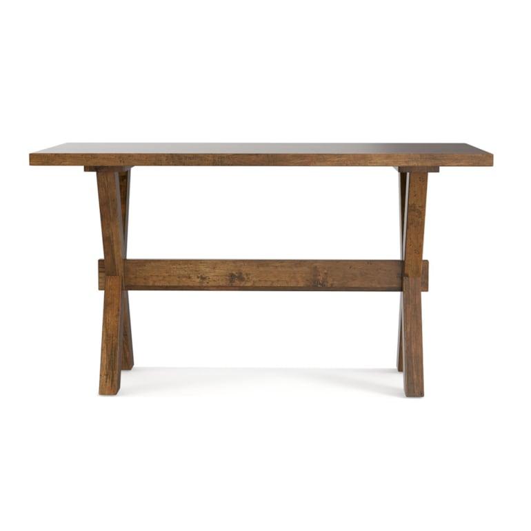 "Crossbuck 54"" Desk"