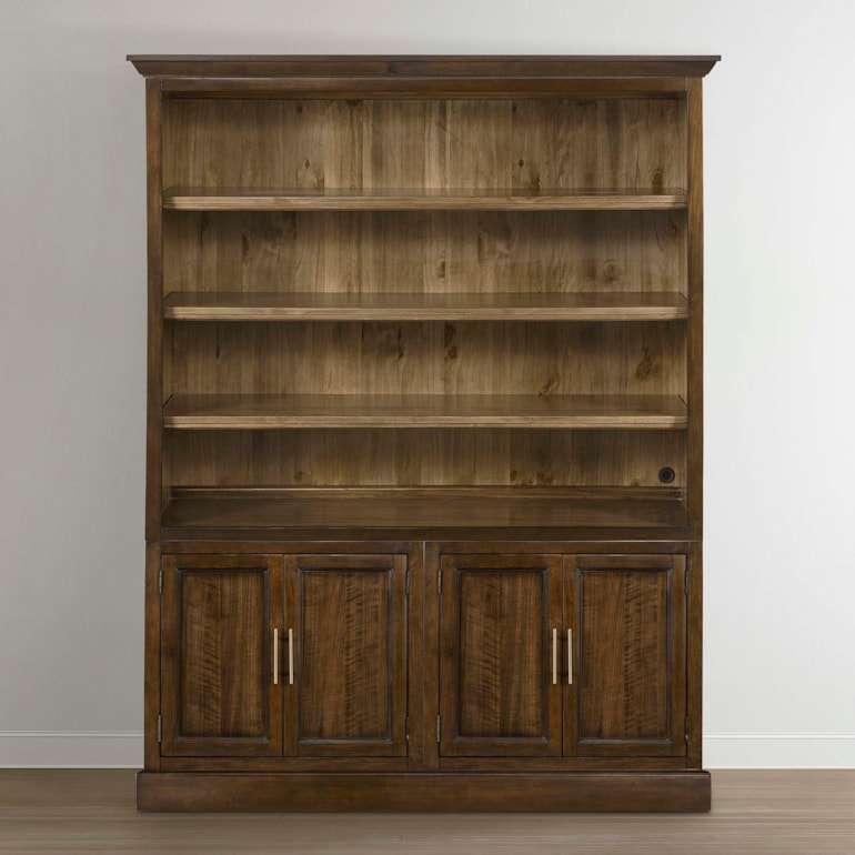 Double Library Bookcase