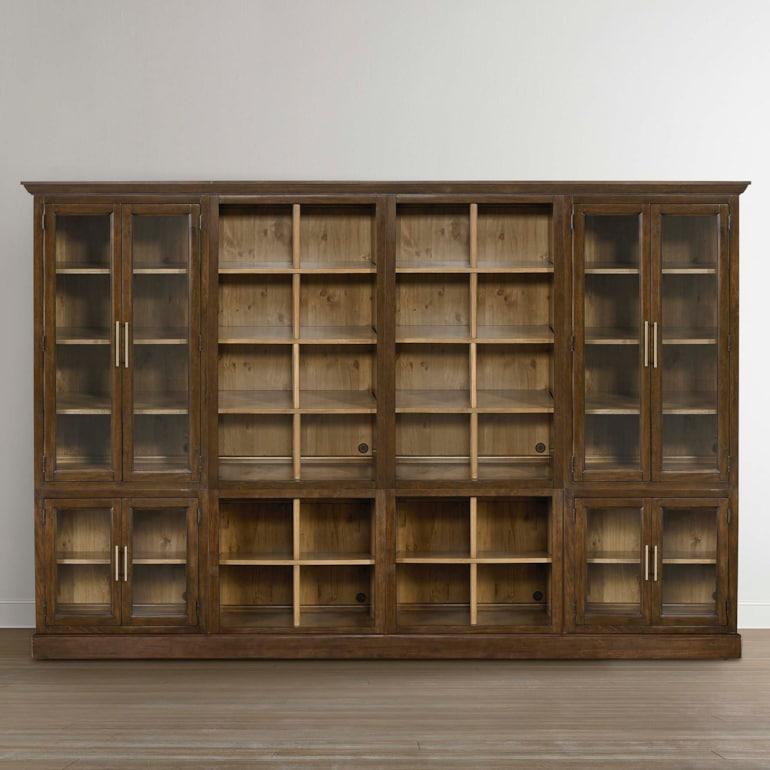 Quad Library Bookcase