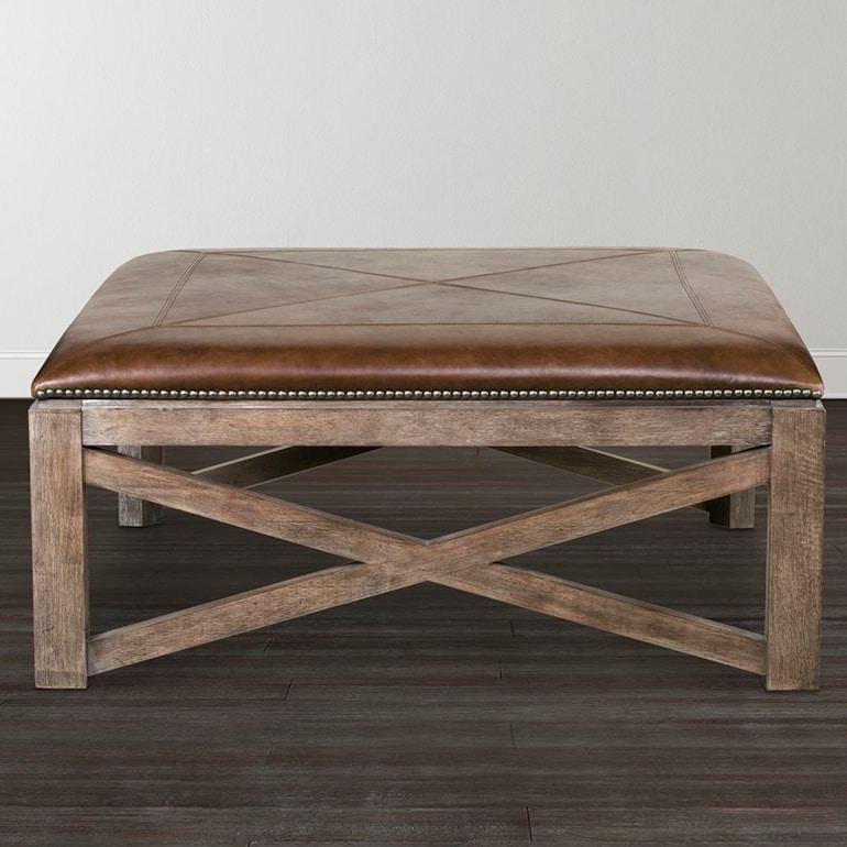 Super 42 Inch Square Ottoman Cocktail Table Leather Compass Creativecarmelina Interior Chair Design Creativecarmelinacom