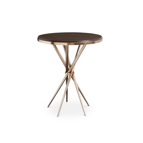 Stiletto Accent Table Champagne Antiquities