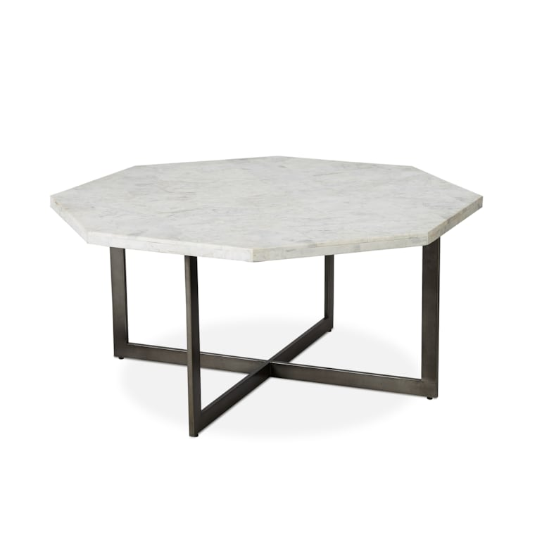 Octagonal Cocktail Table