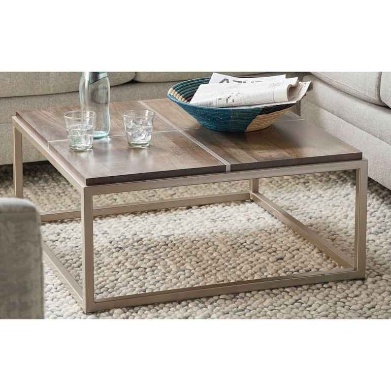 Maple Small Square Cocktail Table