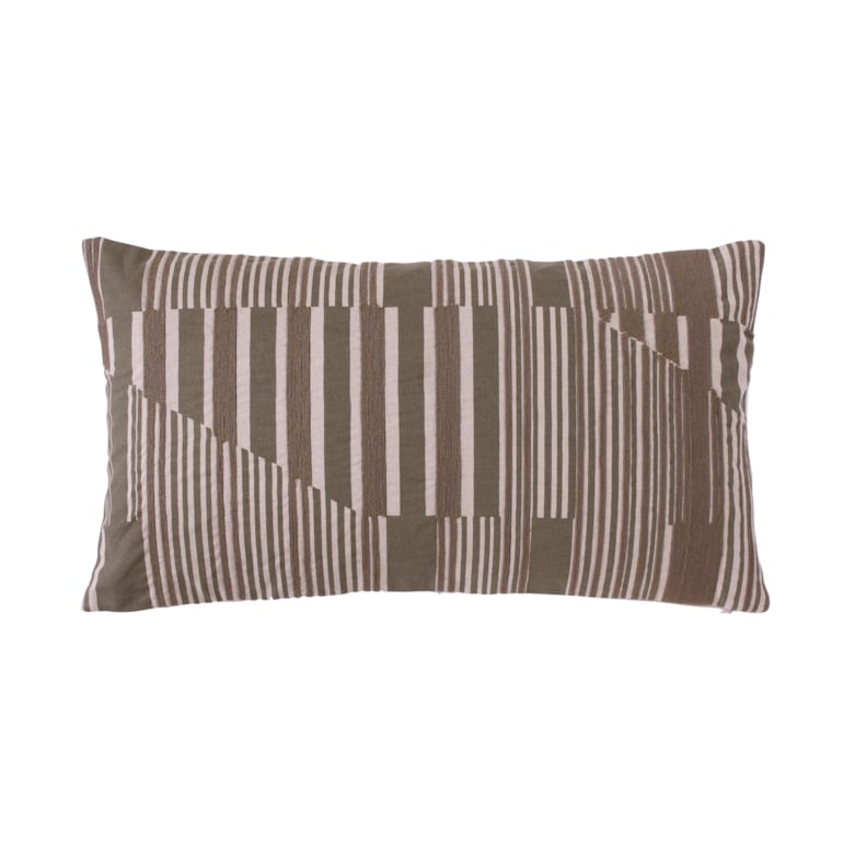 Vector Pillow Cover Olive