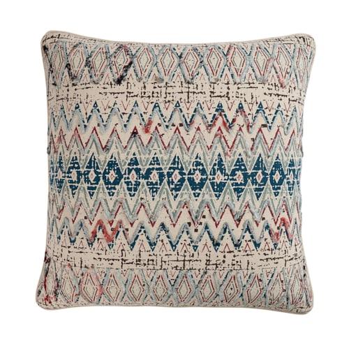 Ezra Pillow Cover Teal