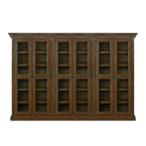 Tall Triple Display Cabinet