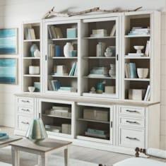 """Bella60"""" Library Bookcase"""