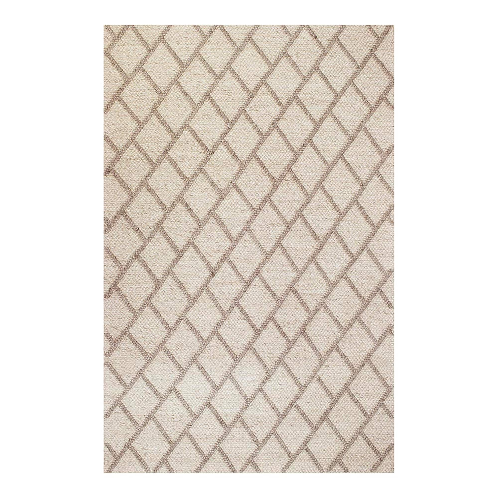 Florentine Ivory Area Rug - Hand-Woven