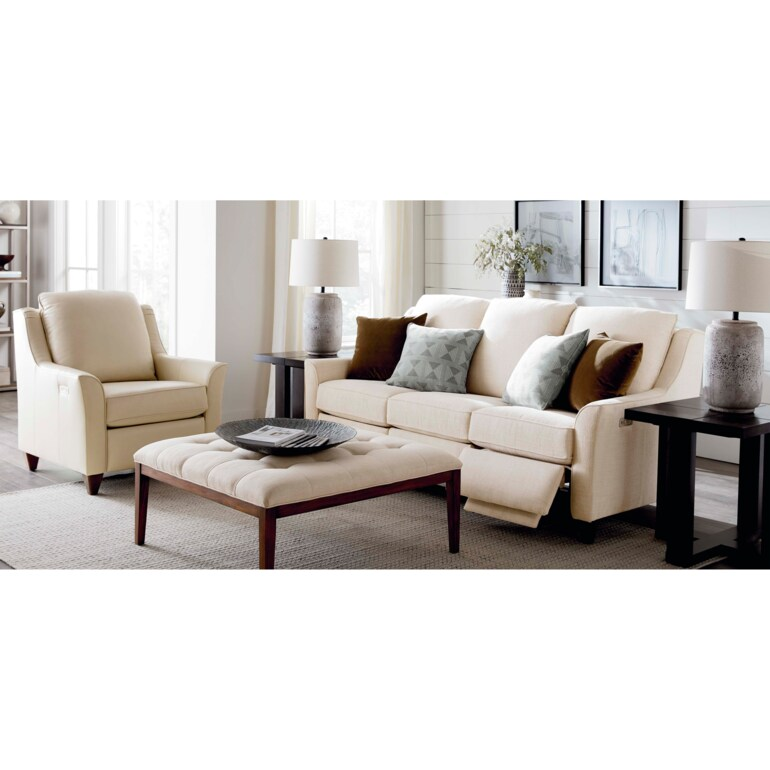 Reclining Fabric Sofa