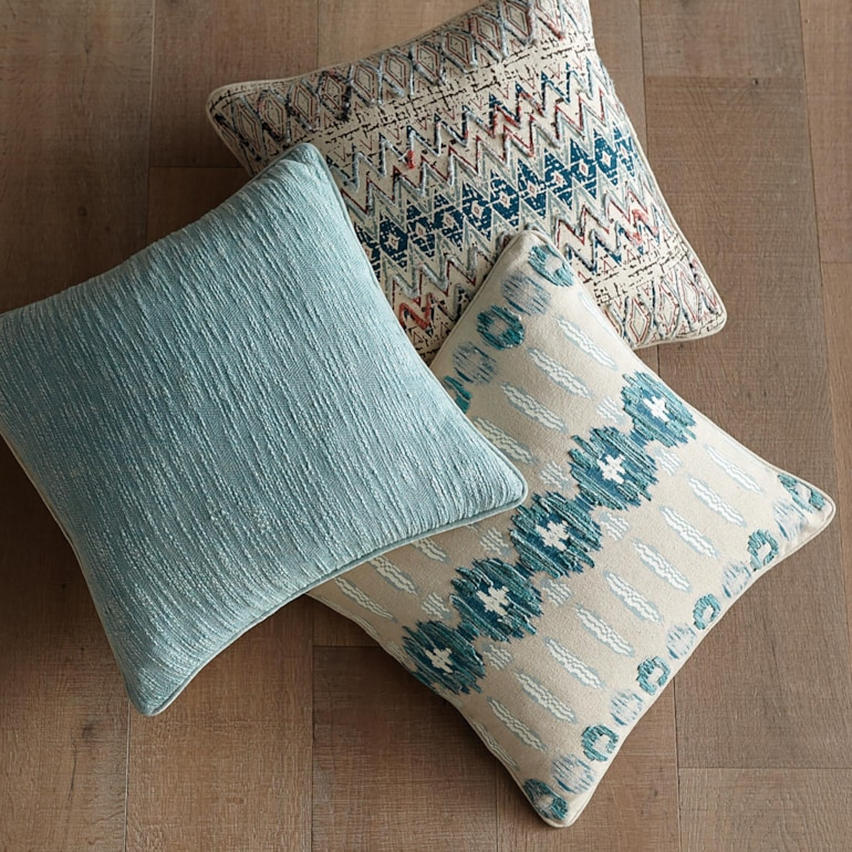 Sawyer Pillow Cover Teal