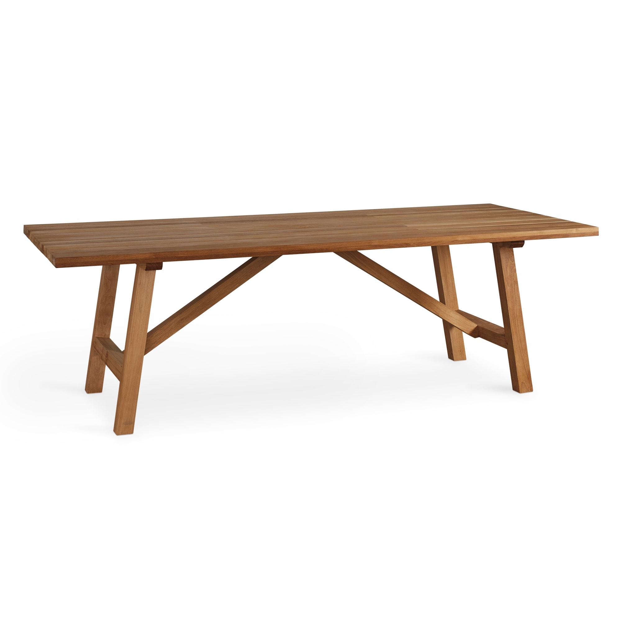 96 Inch Rectangular Dining Table Martin Teak Tables