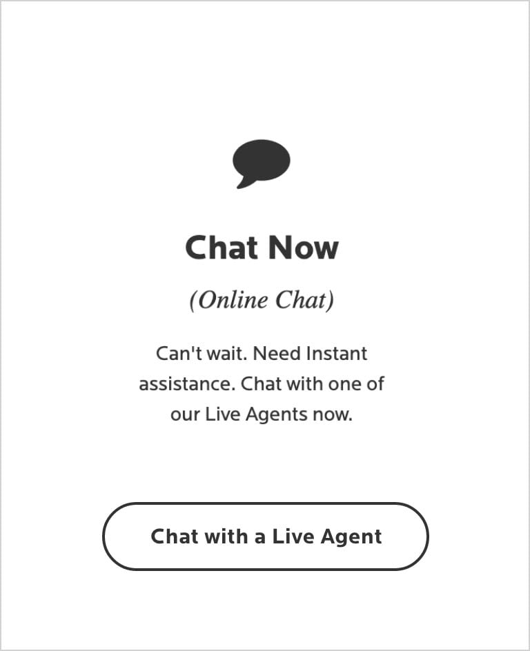 chat with a live agent