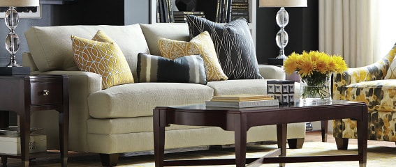 Bassett Makeover Central - Custom Sofas