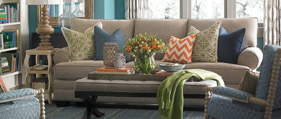 Custom Furniture Upholstery HGTV Design Center Bassett Furniture