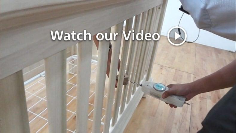 bassett drop side crib assembly instructions