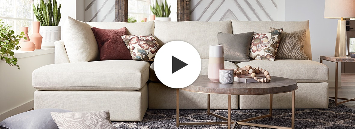 See All Of Beckham S Sectional Sofa Options Bassett Furniture