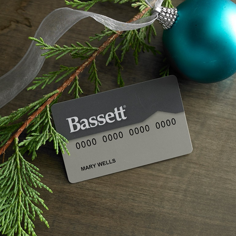 Attractive Bassett Credit Card
