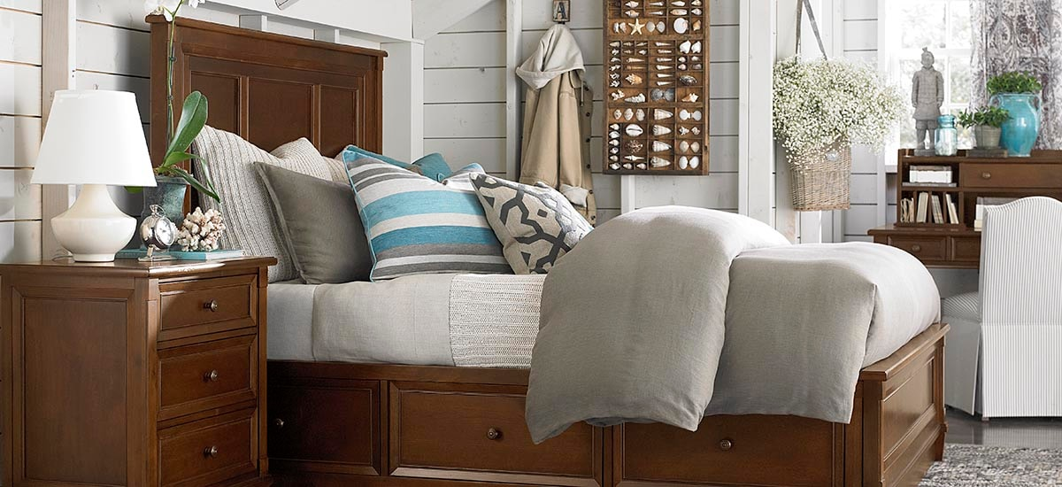 Bassett Furniture - Chatham Storage Bed