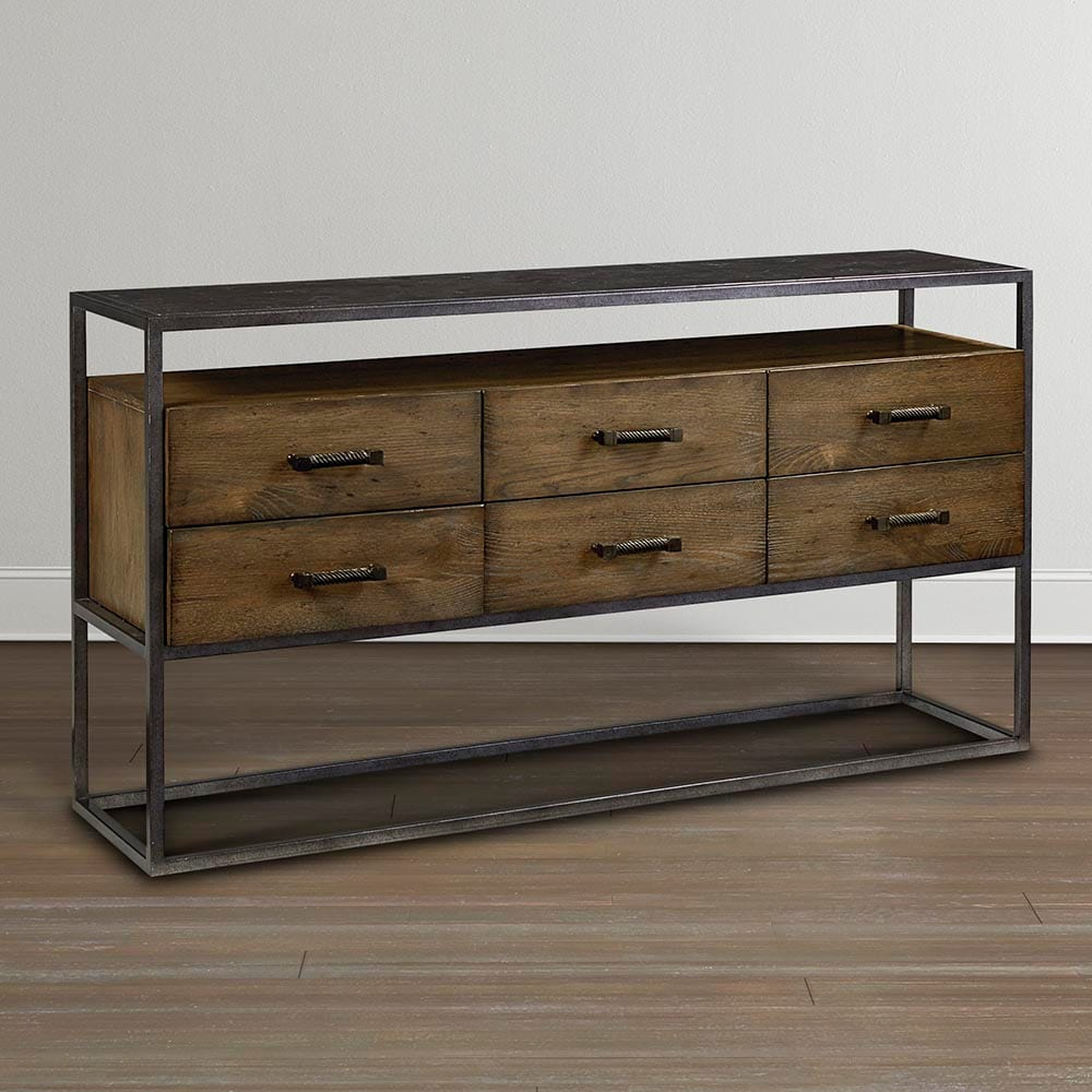 Knotty Oak Sideboard Bassett Furniture