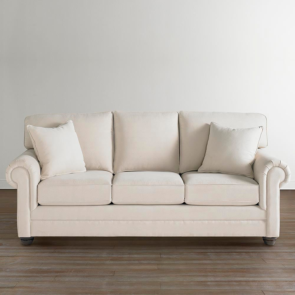 different types of couches names bassett furniture Custom Upholstery Large Queen Sleeper