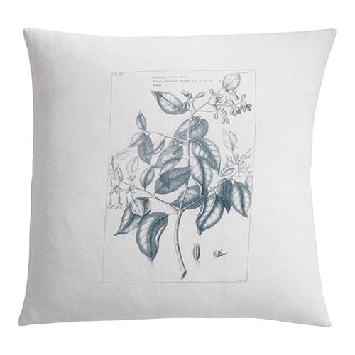 find your interior design style Botanique Floral Blue Pillow
