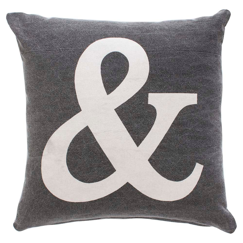 how to choose throw pillows for sofa bassett furniture Ampersand Pillow