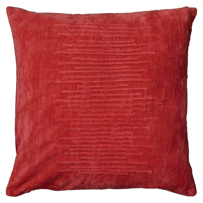 how to choose throw pillows for sofa bassett furniture Coral Cotton Velvet Pil DOWN