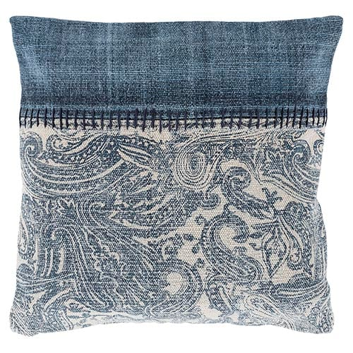 find your interior design style Lola Navy Paisley Pillow