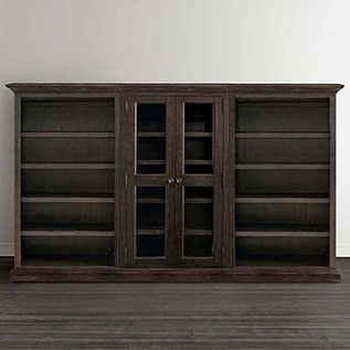 different types of furniture Emporium Triple Storage Cabinet Bassett