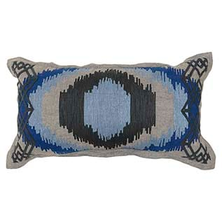 find your interior design style Davinia Dk Blue Multi Pillow
