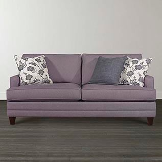 different types of furniture Custom Upholstery Small Queen Sleeper Bassett