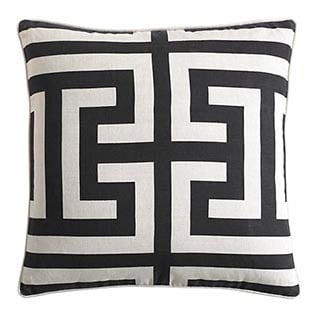 find your interior design style Estate Black Pillow