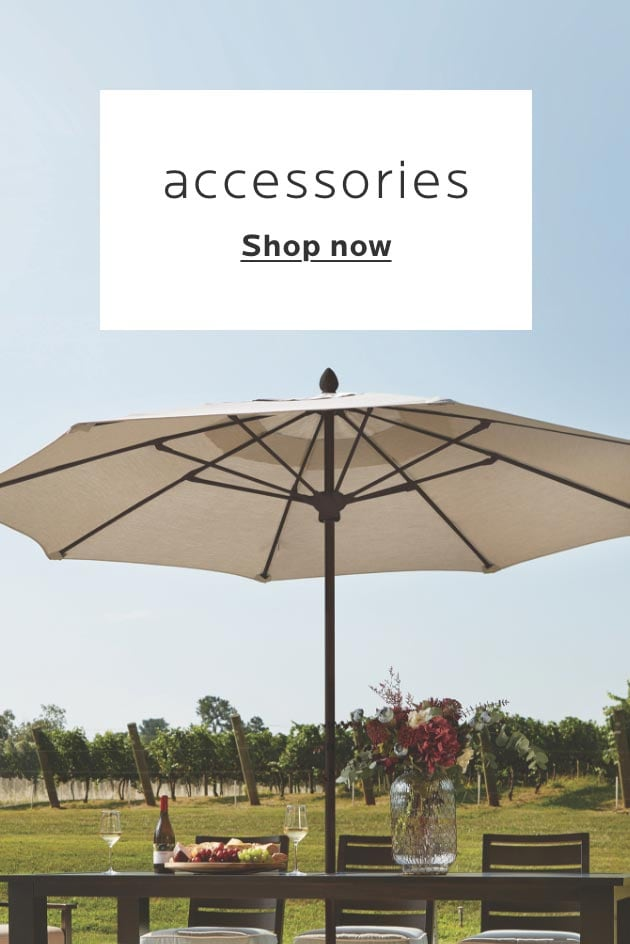 Accessories category. Shop now