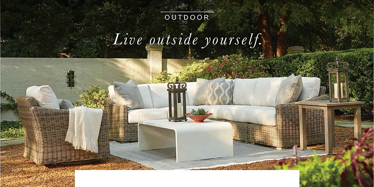 Bassett Outdoor. Live outside yourself.