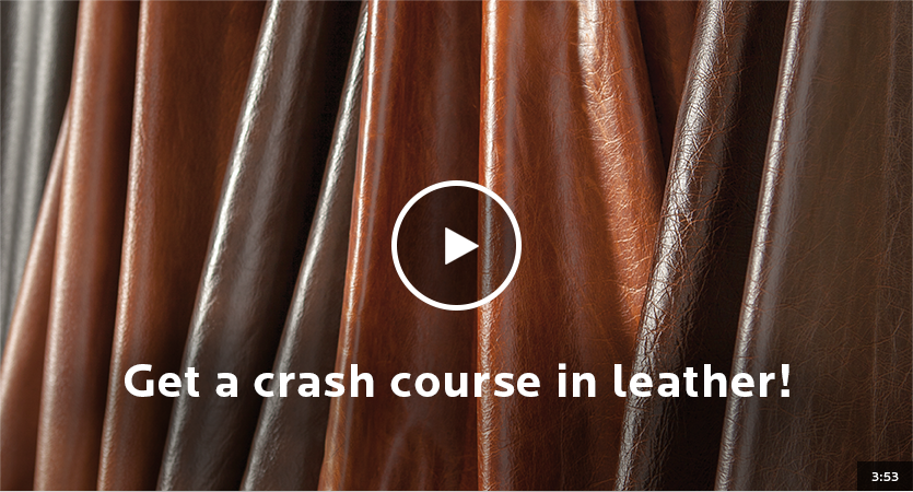 Get a crash course in leather!
