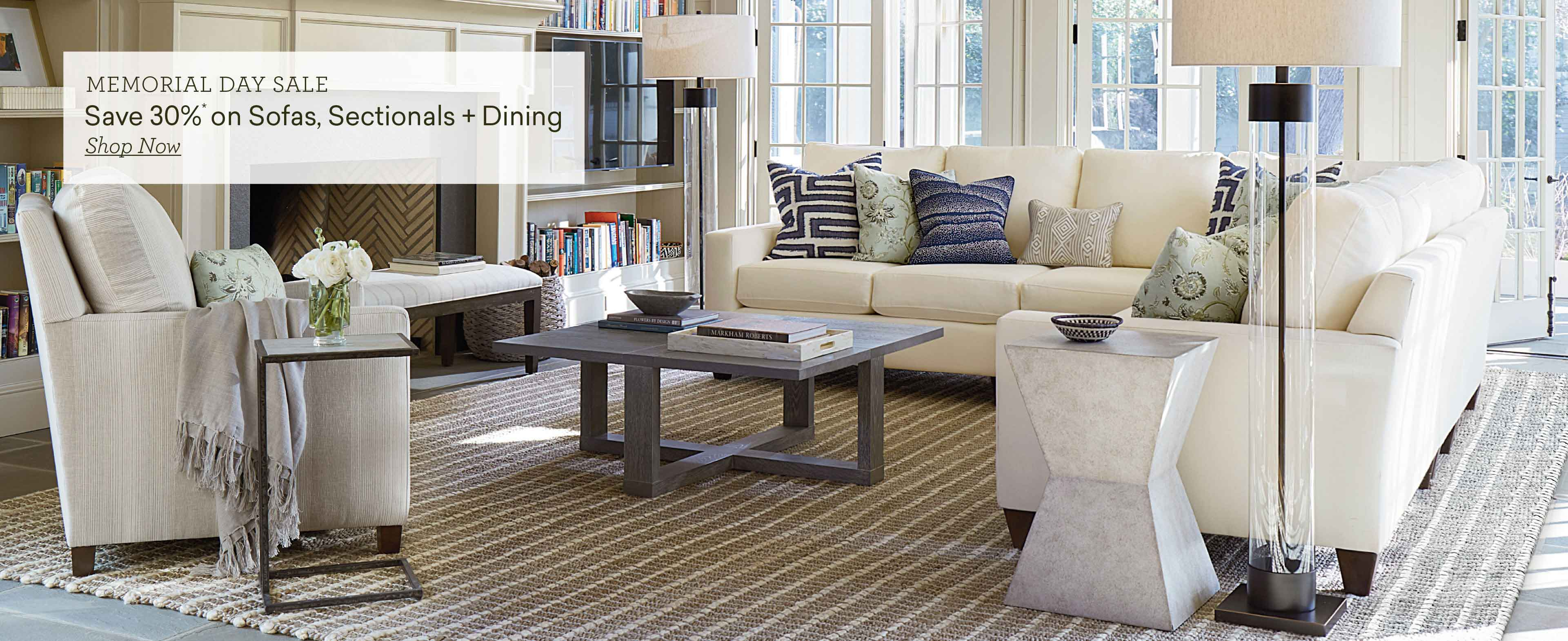 memorial day sale save 30% on sofas sectional and dining slide 2 Desktop
