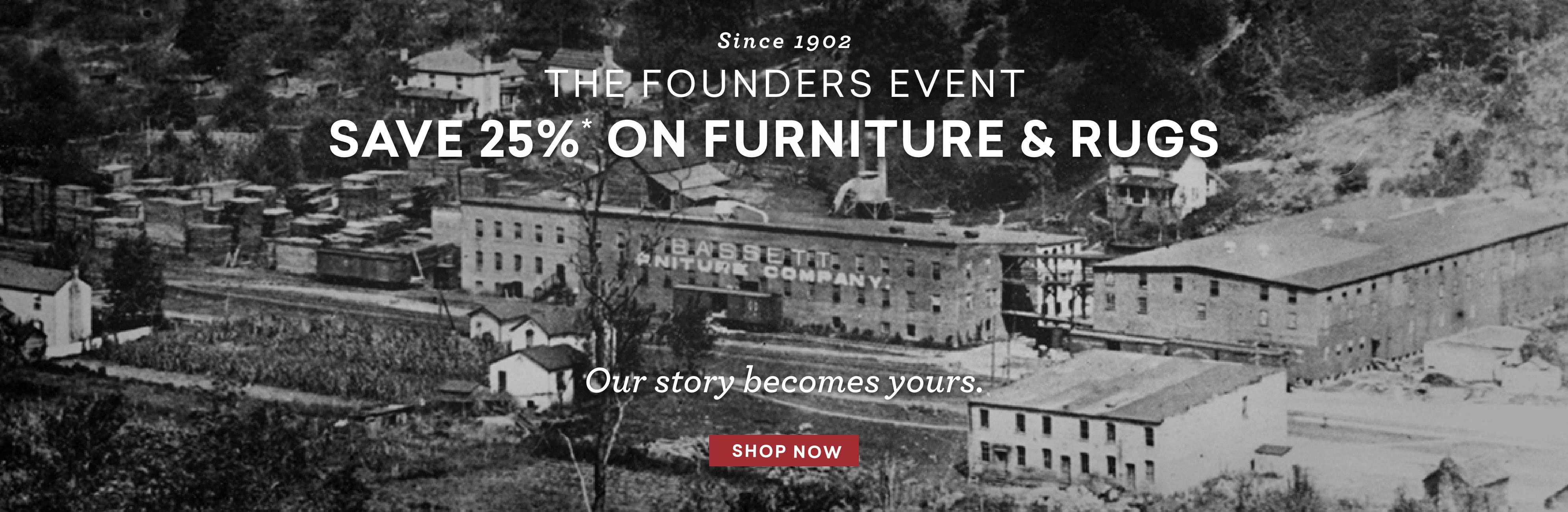 the founders event save 25% off furniture and rugs Desktop