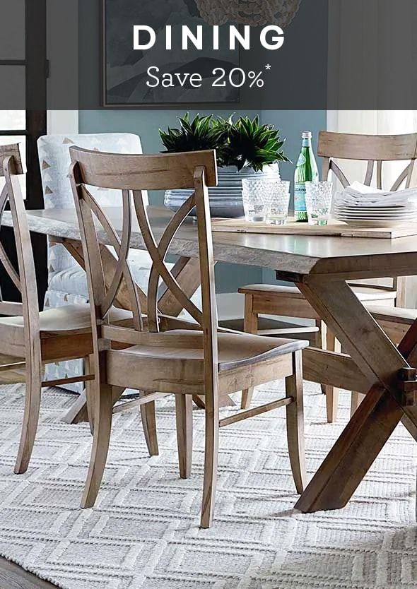 Wood Dining Room Chairs | Handcrafted Bassett Chairs