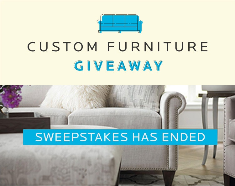 Custom Furniture Giveaway - Mobile