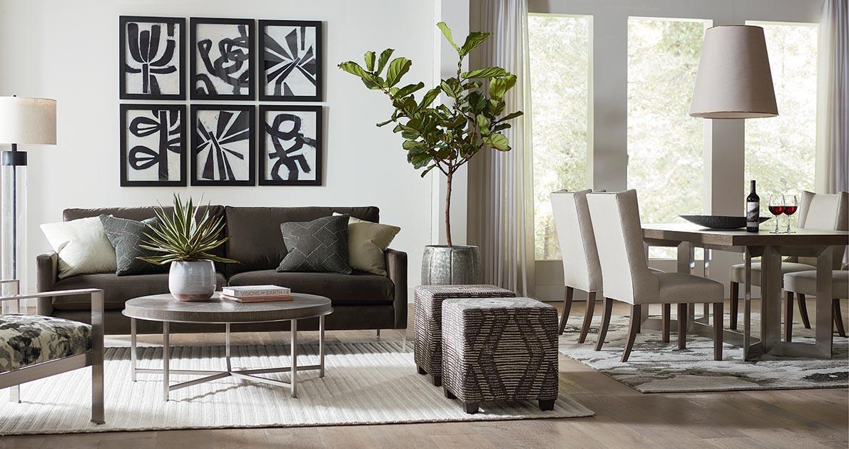 Bassett furniture home decor furniture you 39 ll love - Open floor plan furniture layout ideas ...