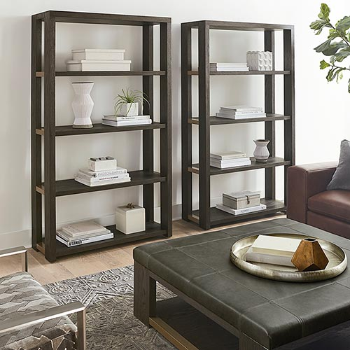 Bookcases & Open Shelving